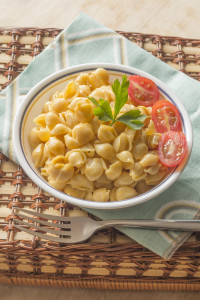 Creamy, Light Macaroni and Cheese